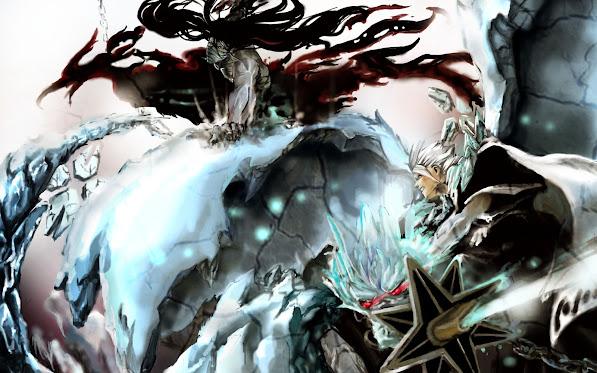 Ichigo vs Toshiro 4o