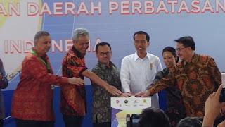 Jokowi Resmikan Pembangunan PLTU Batang