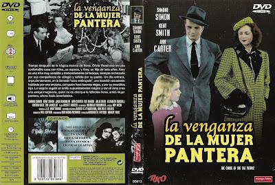 Cover, Dvd, Caratula:  El regreso de la mujer pantera (La venganza de la mujer pantera)| 1944 | The Curse of the Cat People