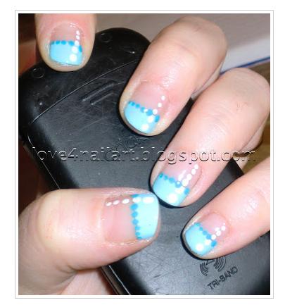 love4nailart easy nail art design