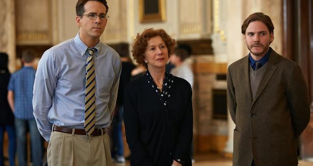 Helen Mirren, Ryan Reynolds e Daniel Brühl no trailer legendado de A Dama Dourada