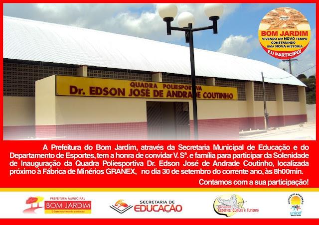 Dr Edson José de Andrade Coutinho  Bom Jardim Notíciascom