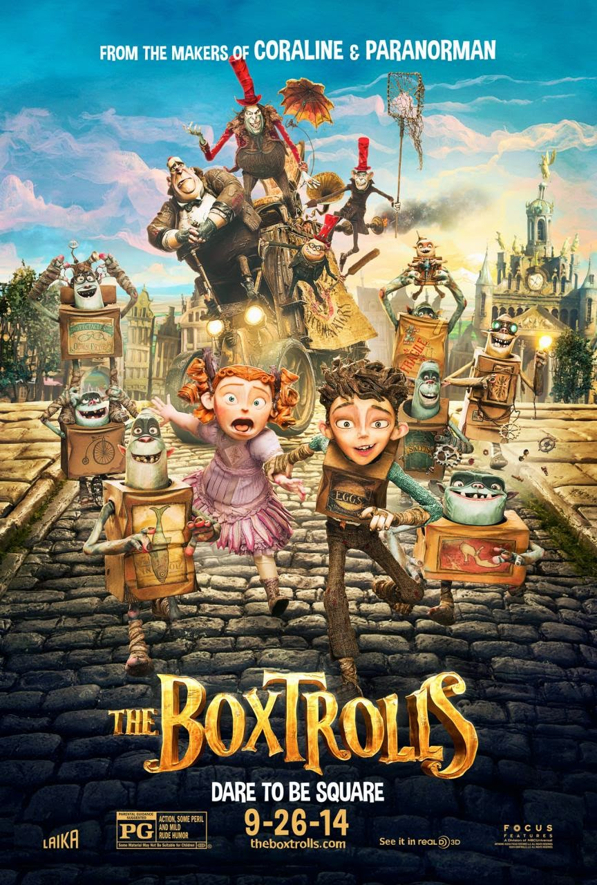 The Boxtrolls (2014) : Imdb 68 How To Train Your Dragon