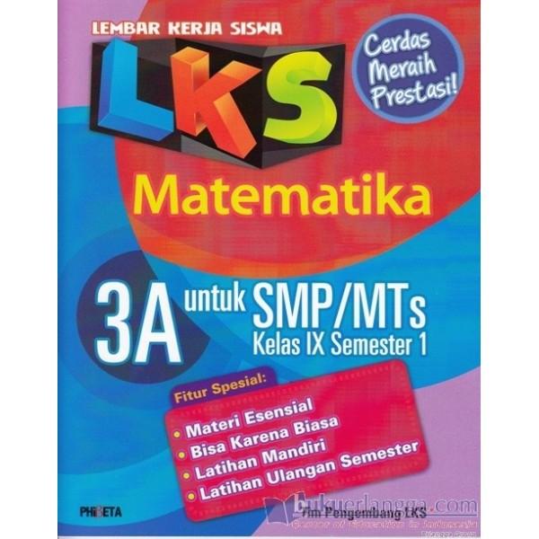 Bahan Belajar Siswa Kelas 9 Pbm Matematika Iwan Sumantri