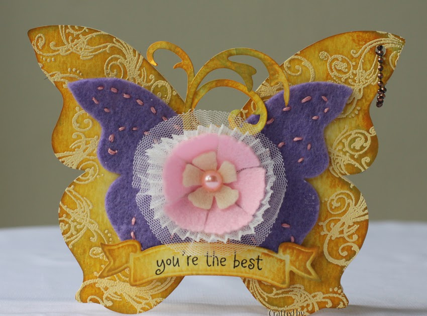 Fabulous Butterfly! by kathykag - at Splitcoaststampers