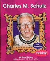 Good Books for Kids Biography - bookcover of  CHARLES SCHULZ by Cheryl Carlson