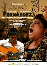 RECITAL DE ENCARNACIÓN FERNÁNDEZ Y ANTONIO MUÑOZ FDEZ. HUERTO PÍO LA UNIÓN