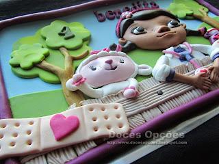 bolo doutora brinquedos bragança