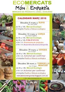 Calendari Març de Món Empordà