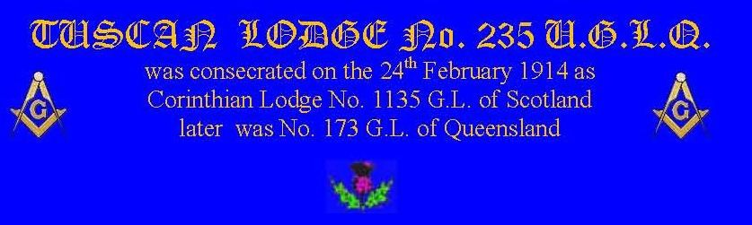 Tuscan Lodge No.235 U.Q.L.Q.