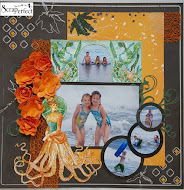 March layout challenge is all about beautiful and rich colors