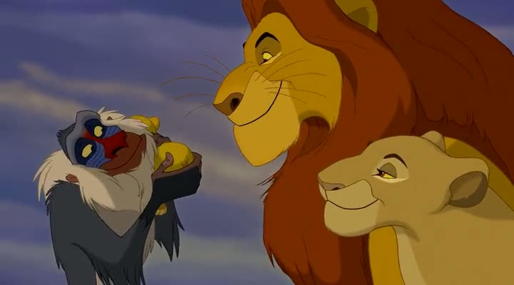 Screen Shot Of The Lion King (1994) Dual Audio Movie 300MB small Size PC Movie
