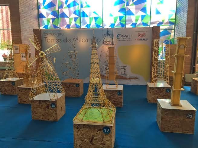 Bangu Shopping promove concurso 'Torres de Macarrão'