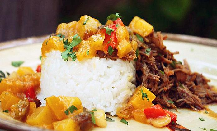 Caribbean pulled pork recipe