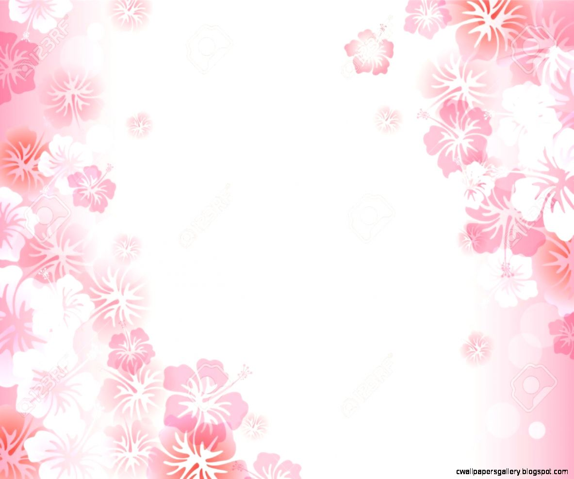 Hibiscus Background Royalty Free Cliparts Vectors And Stock