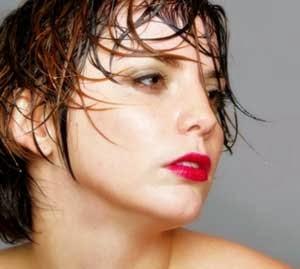 cabello efecto mojado