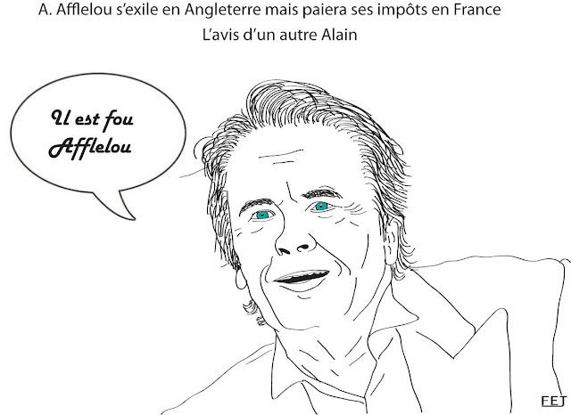 Afflelou s'exile en Angleterre