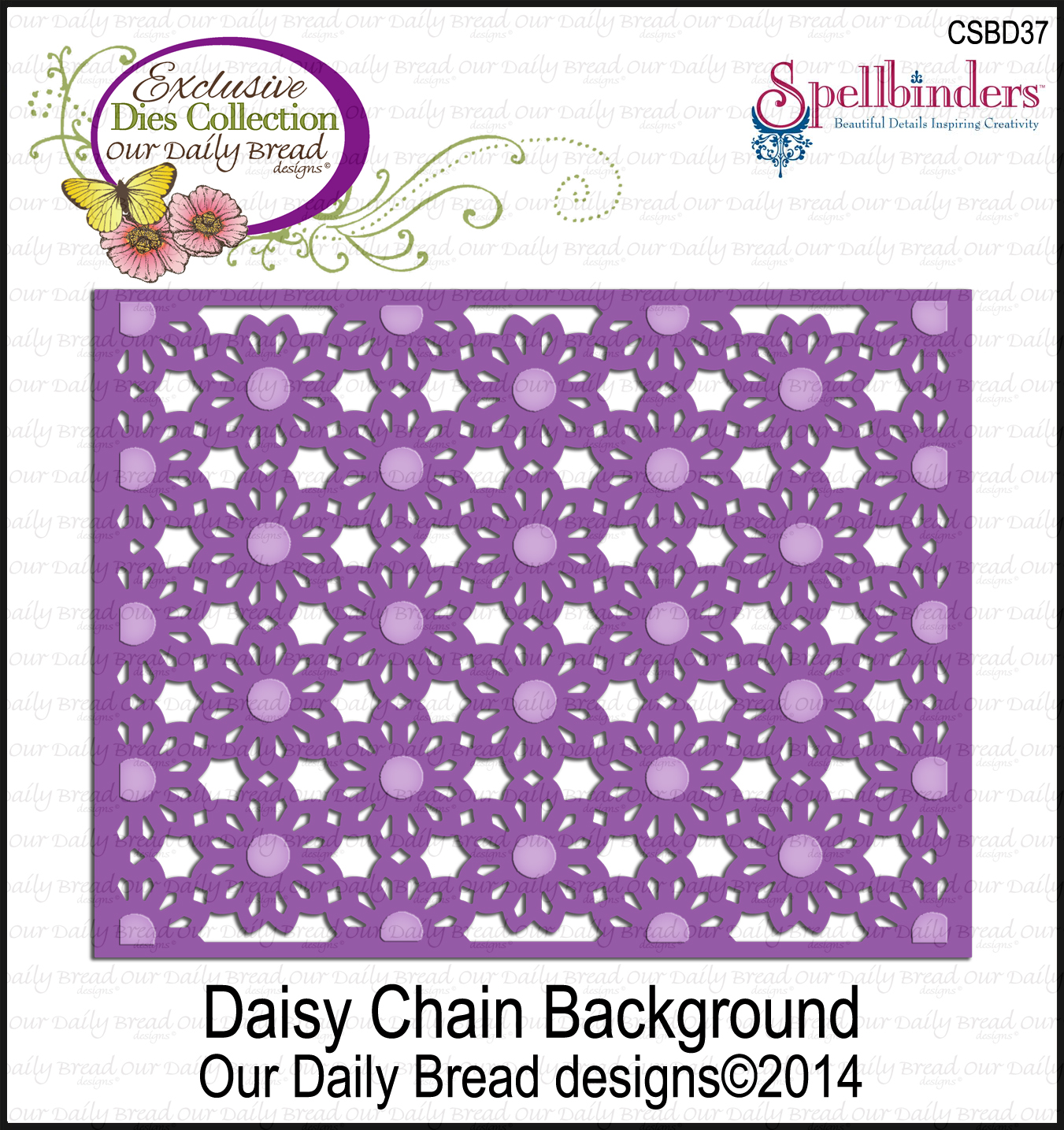 ODBD Custom Daisy Chain Background Die