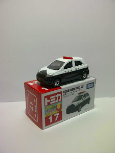 Tomica Nissan March Patrol Car (1:64)