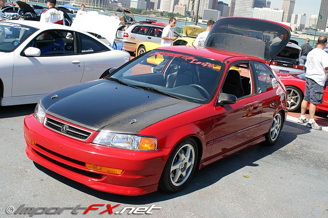 Honda Civic VI, hatchback, domani conversion