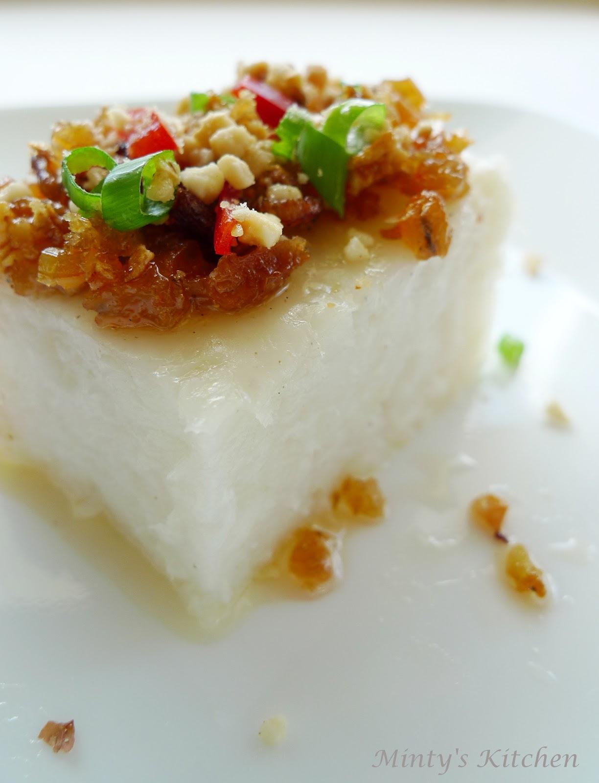 White Radish Cake Recipe