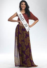 MISS INDONESIA 2011 CONTESTANT - Mellyza Shavira