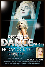 Friday. Oct. 17 DECADES of DANCE PARTY!