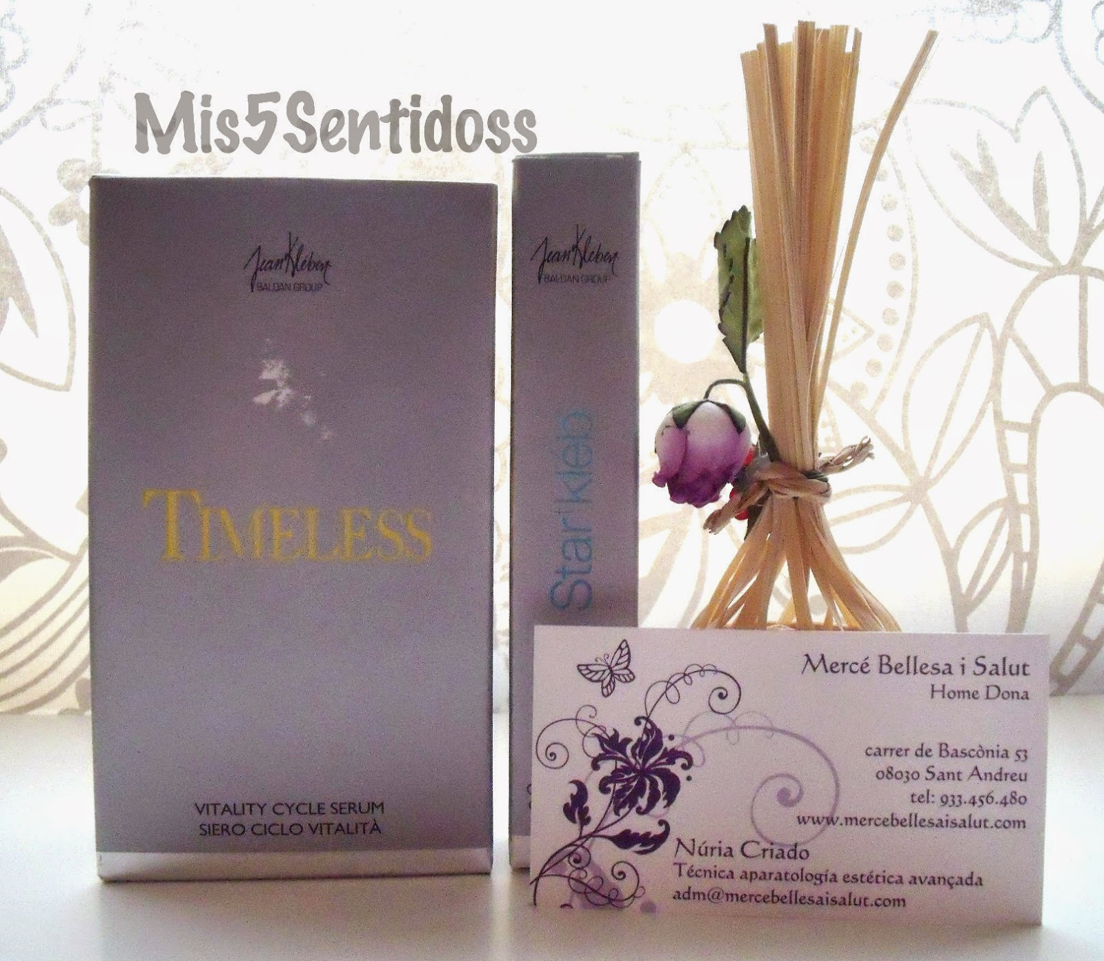 Productos faciales Timeless