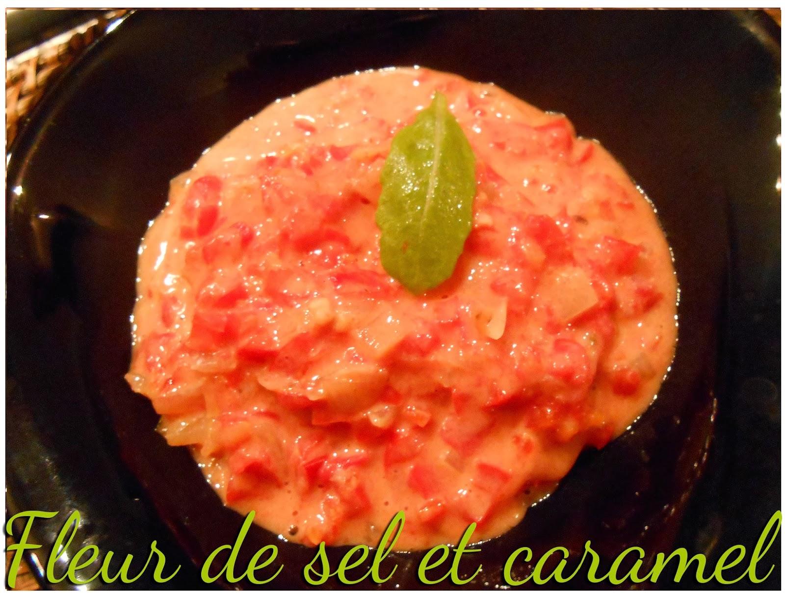 fleur de sel et caramel p 226 tes aux poivrons et 224 la tomate