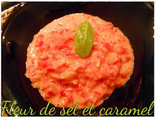 Pâtes aux poivrons et à la tomate