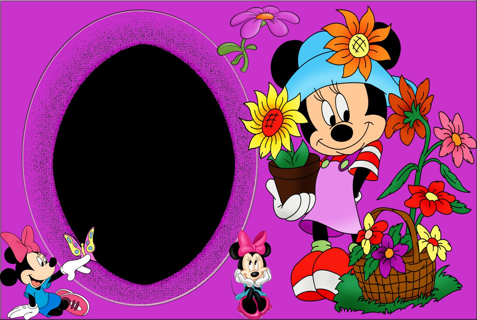 El Rincón de Andreíto: Lindas plantillas para fotos Disney