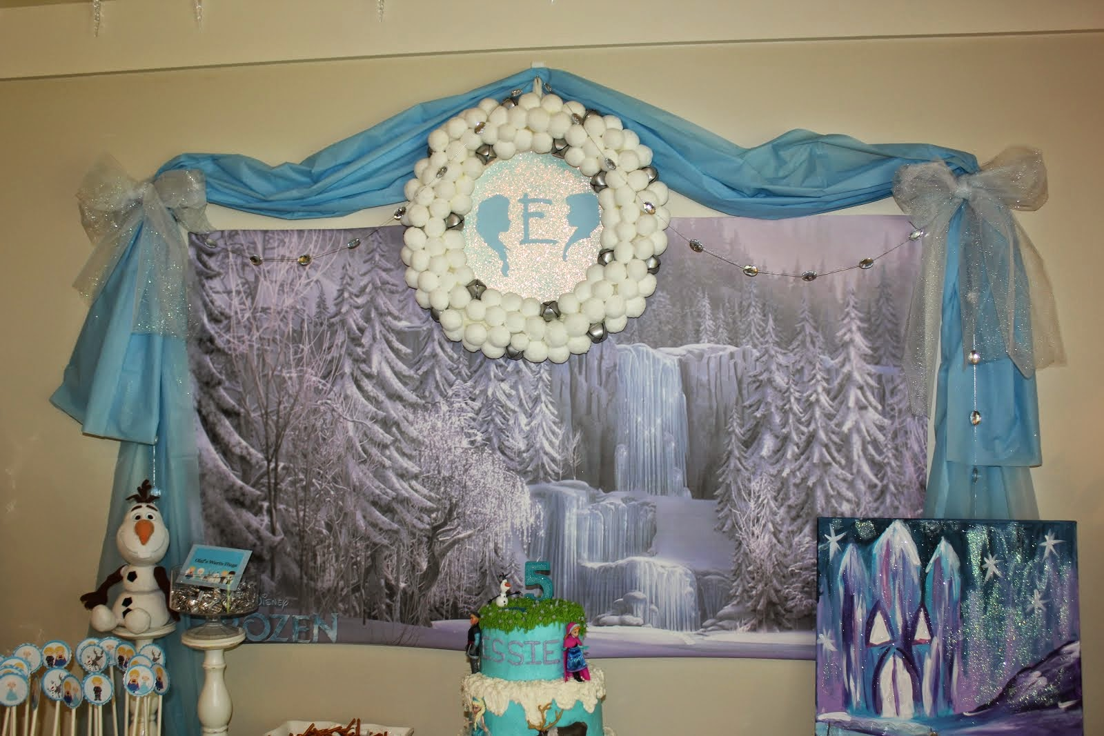 Essie's 5th Birthday Party (Frozen)