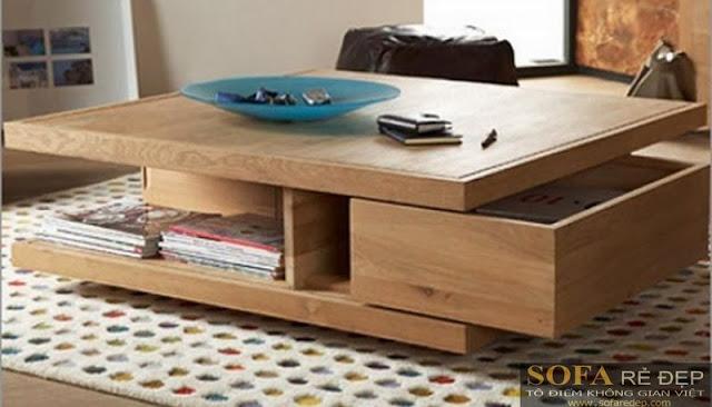 Bàn sofa gỗ BS026
