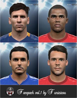 PES 2016 facepack