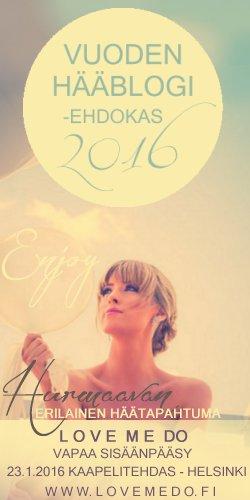 Blogimme oli ehdolla vuoden hääblogiksi 2016!
