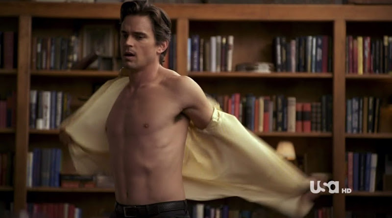 Matt Bomer Shirtless on White Collar s2e12