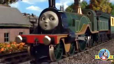 Train Thomas and friends Emily the tank engine had run out of boiler water she had no steam left