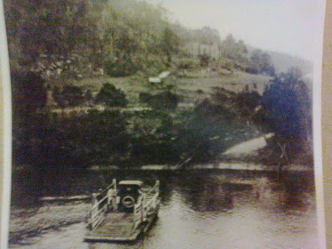 Photo from around 1915 it shows the Books ferry the church & cemetry in foreground