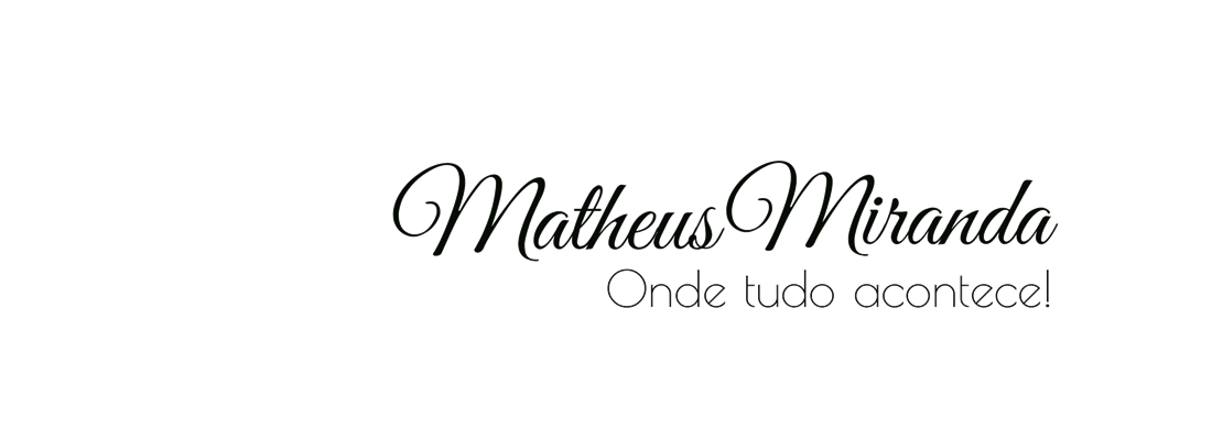 Blog Matheus Miranda