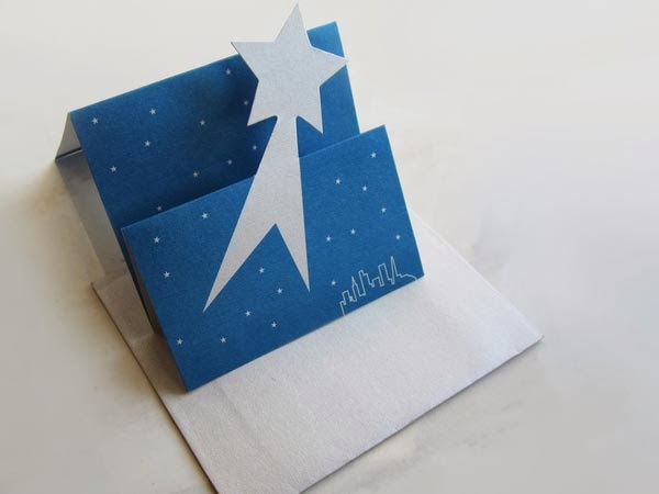 pop-up christmas card