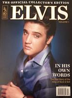 Topix Collectors Edition Magazine: ELVIS PRESLEY, 2017 vol.11, Full-page Photos!