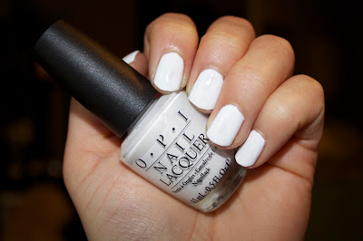opi alpine snow nail polish