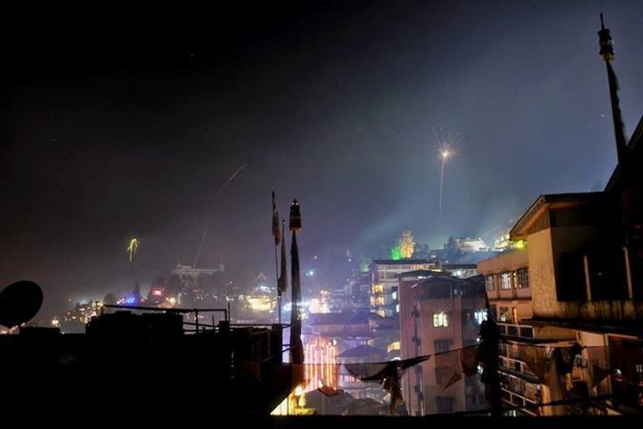 Darjeeling celebrated diwali or dipawali