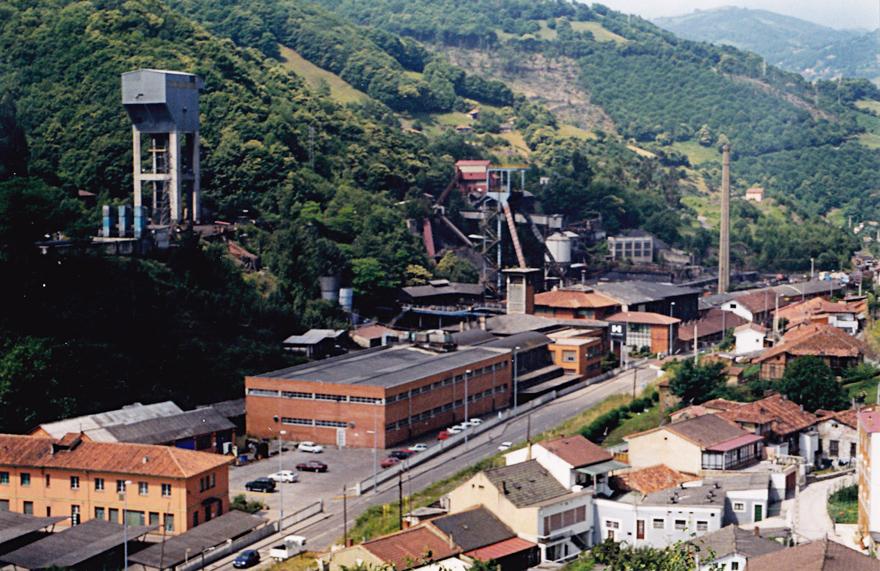 Minas de Figaredo, foto de Ángel García Díaz