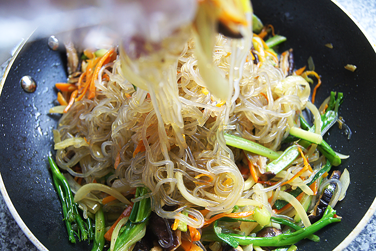 korean-japchae
