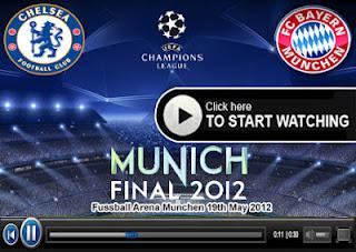 Final Chelsea vs Bayern Munchen 20 Mei 2012