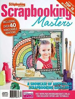 Scrapbooking Masters Vol 16 No 6 Covergirl!