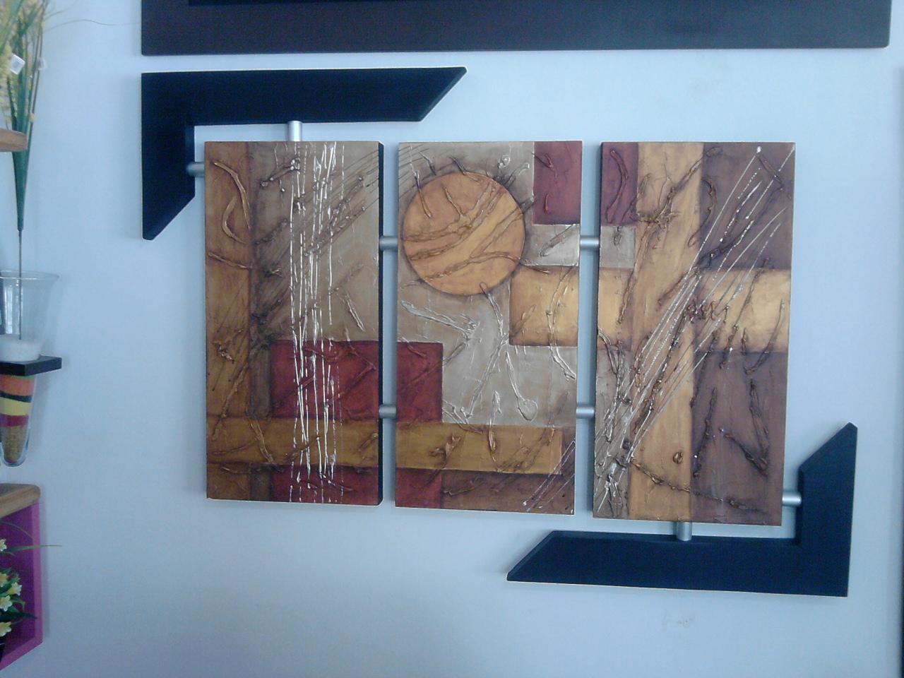 Taller de manualidades decorarte im genes de cuadros for Decoracion hogar 2012