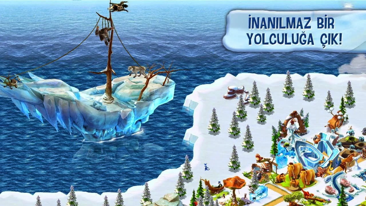 Buz Devri Maceraları Hile Apk İndir