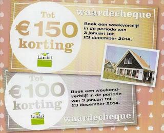 www.landal.nl/kerst22l actiecode landal kerstpakket